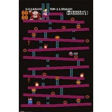 PLAKAT DONKEY KONG (NES)