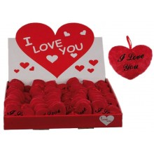 Fløffy I Love You hjerte