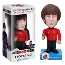 Star Trek Big Bang Theory Howard Bobble Head