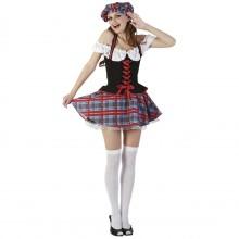 Skotsk Karnevalskostyme Dame