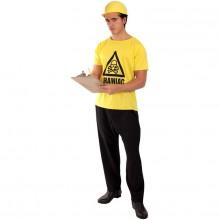 Brainiac T-skjorte Karnevalskostyme