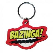 Big Bang Theory Bazinga Nøkkelring