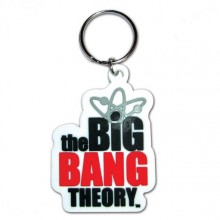 Big Bang Theory Logo Nøkkelring