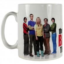 Big Bang Theory Grupp Foto Kopp