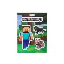 Minecraft Steve Pets Klistremerke pakke