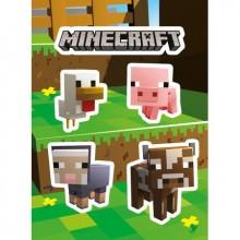 Minecraft Baby Dyr Klistremerker