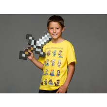 Minecraft Career Opportunities Barn T-shirt