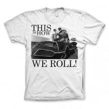 T-Skjorte Batman This Is How We Roll Hvit