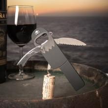 Flaskeåpner Pirat Skruopptrekker