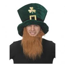 St. Patricks Hatt med Skjegg