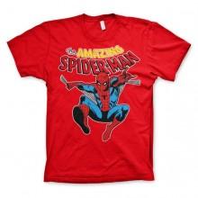 The Amazing Spiderman T-Shirt Rød