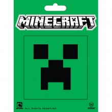 Minecraft Creeper Face Klistremerke