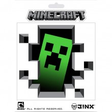 Minecraft Creeper Inside Klistremerke