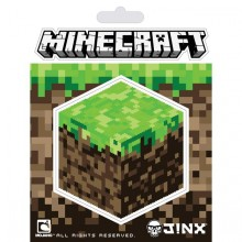 Minecraft Dirt Block Klistremerke