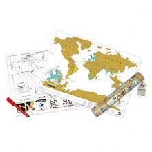 Scratch Map Reiseversjonen