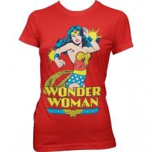 Wonder Woman Dame T-skjorte