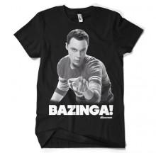 Sheldon Says BAZINGA! T-Skjorte