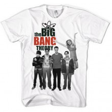 The Big Bang Theory Cast T-skjorte