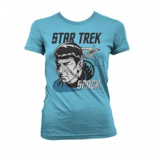 Star Trek & Spock Girly T-Skjorte