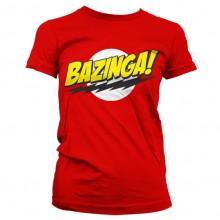 Bazinga Super Logo Jentegenser