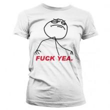 Fuck Yea. Dame T-skjorte