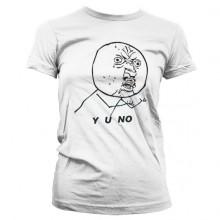 Y O NO Dame T-skjorte