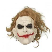 Joker Maske med Hår