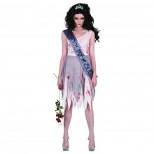 Prom Queen Zombie Kostyme