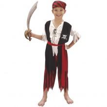 Piratgutt Karnevaldrakt Barn