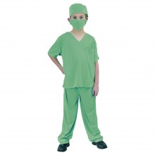 Kirurg Karnevalskostyme Barn