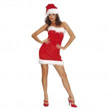 Sexy Santa Lady Kostyme