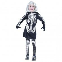 Skjelettkjole Kostyme Barn
