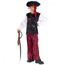 Pirat Karnevalsdrakt Barn