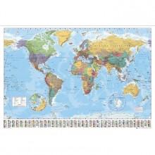 Verdenskart - Plakat