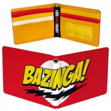 Big Bang Theory Bazinga Lommebok