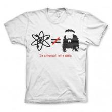 The Big Bang Theory - I`m A Physicist, Not A Hippie T-Shirt