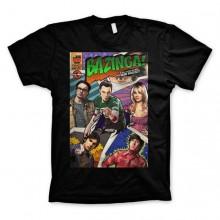 Big Bang Theory - Bazinga Comic Cover T-skjorte