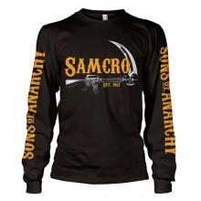 SAMCRO Est. 1967 Long Sleeve T-skjorte Svart