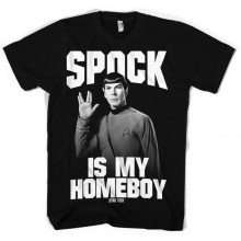 Star Trek Spock Is My Homeboy T-skjorte