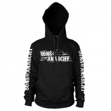 Sons Of Anarchy SOA Flag Logo Hoodie