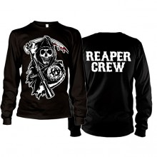 Sons Of Anarchy SOA Reaper Crew Long Sleeve T-Shirt
