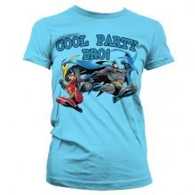 Batman - Cool Party Bro! Dame T-skjorte