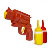 Sennep- og ketchuppistolen