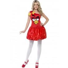 Angry Birds Kostyme Dame