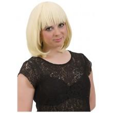 Blond Page Parykk