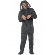 Kostyme Fluffy Hund