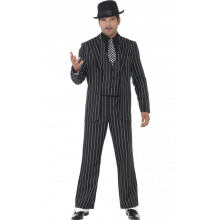 Vintage Gangstersjef-kostyme