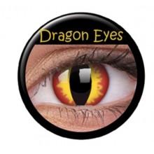 Fargede linser crazy drageøyne