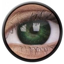 Fargede linser eyelush grønn