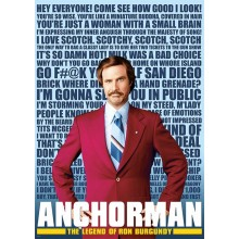 PLAKAT ANCHORMAN (QUOTES)